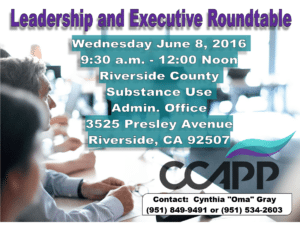 Oma's Roundtable 5_25_2016